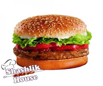 Бургер Барбекю с говядиной