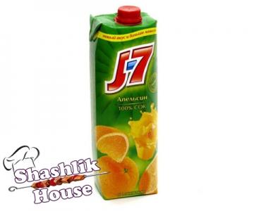 Сок J7 Апельсин 1 л