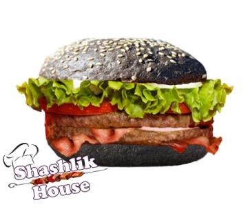 Двойной Блэк бургер
